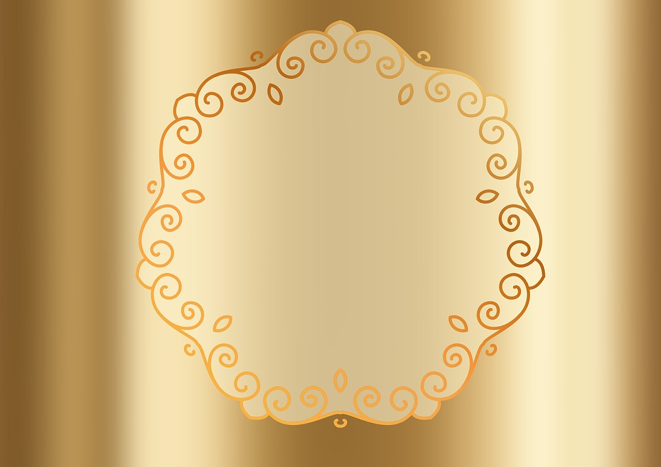 Free Illustration Gold Pattern About Metallic Free