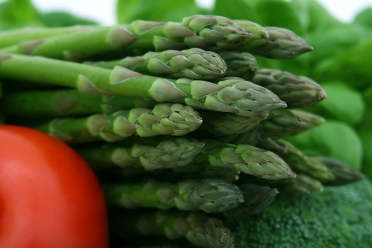 Asparagi, Broccolo, Ciliegia, Fibra, Cibo, Fresco
