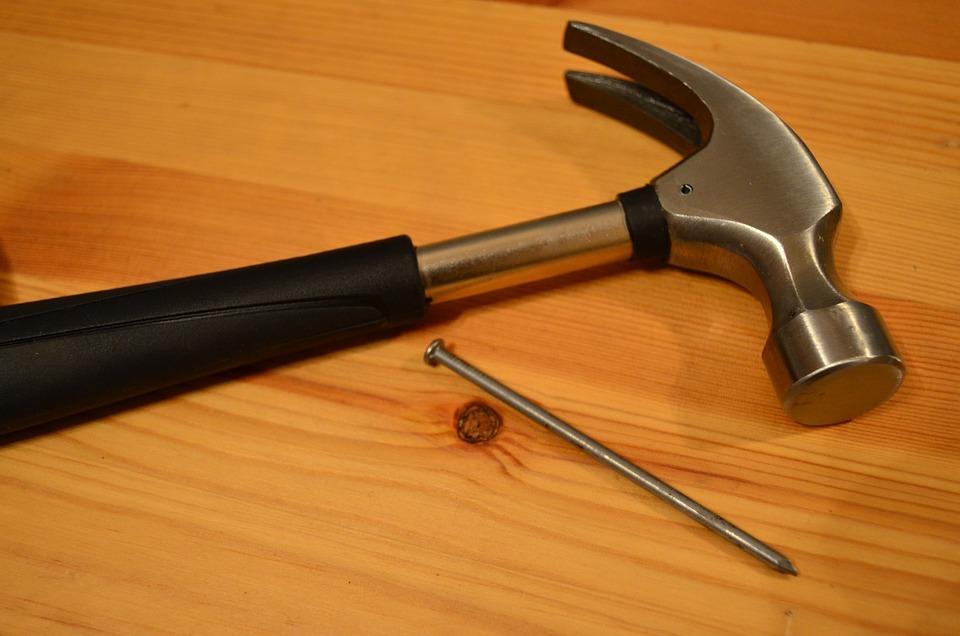 Free photo Hammer Repair Nail Maintenance  Free Image on Pixabay  1240899