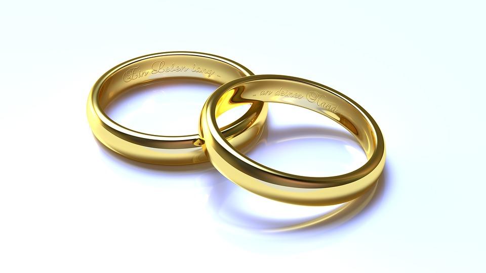 Hochzeit Ringe Gold  Kostenloses Bild auf Pixabay