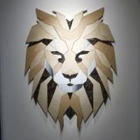 lion wall art | Roselawnlutheran