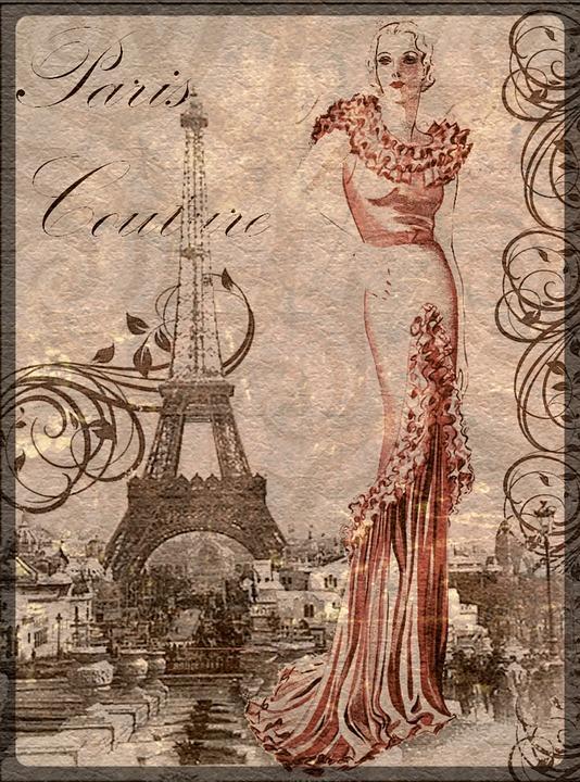 Free Illustration Vintage, Collage, Art, Woman  Free