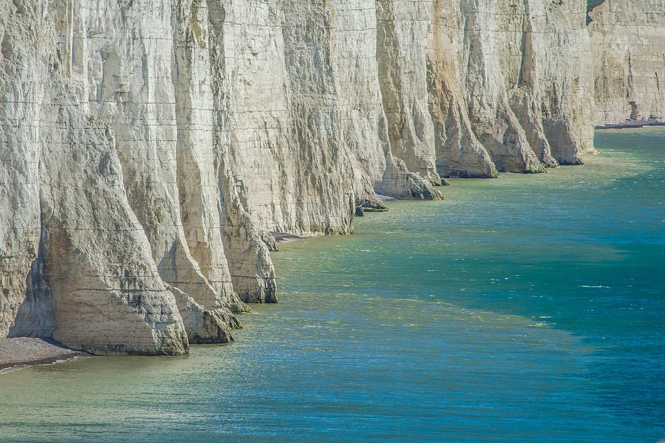 Free photo Seven Sisters England Rocks  Free Image on