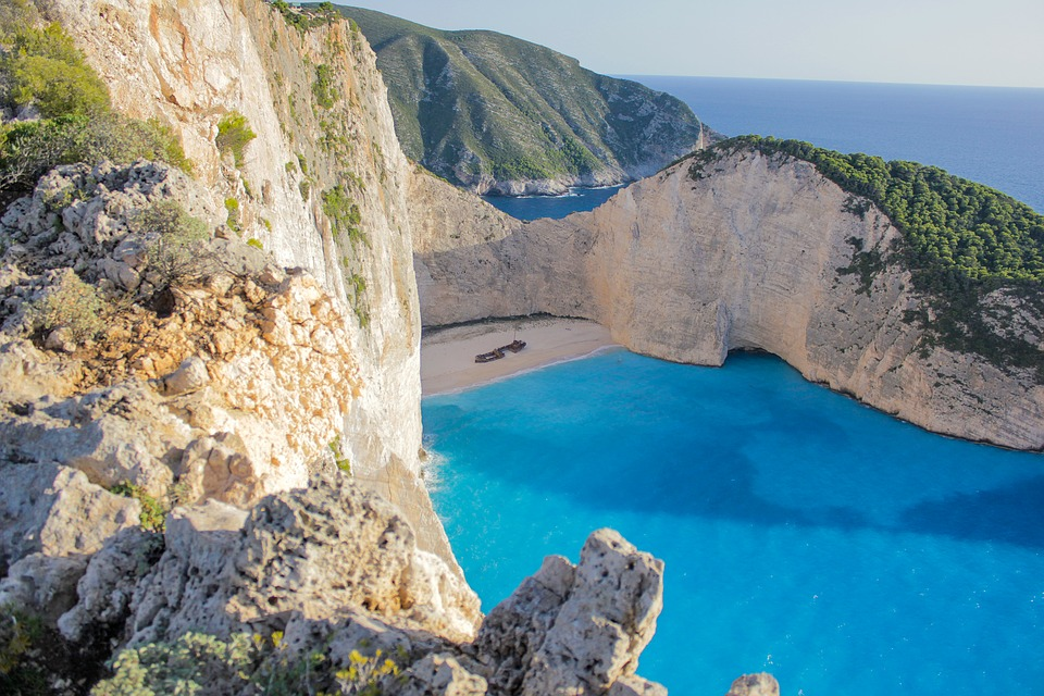 Bay Navagio Free Photo On Pixabay