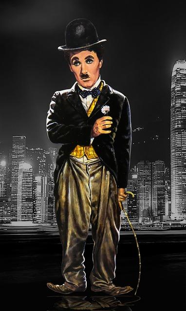 Free illustration Chaplin Charlie Chaplin Melon  Free