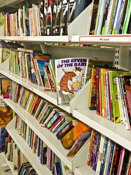 書籍, 使用, 中古, カルバンとホッブズ, 紙, 読み取り, スタック