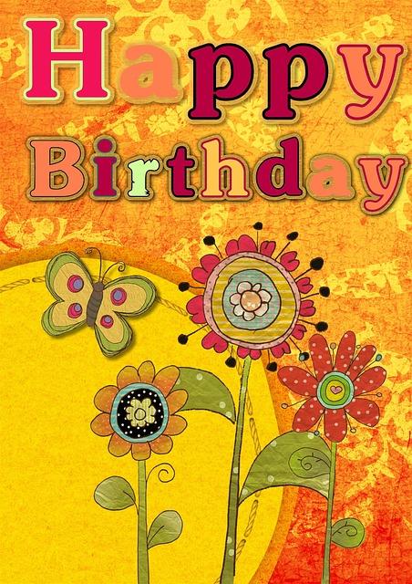 Happy Birthday Card · Free Image On Pixabay