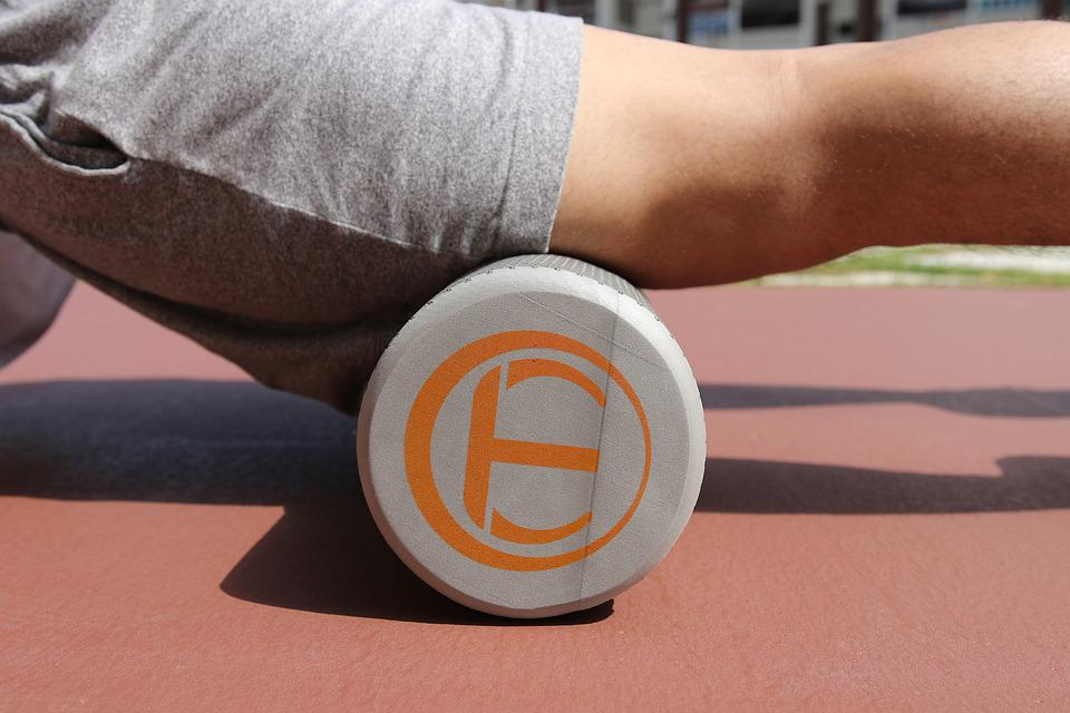 Exercise, Workout, Yoga, Roller, Foam, Foam Roller