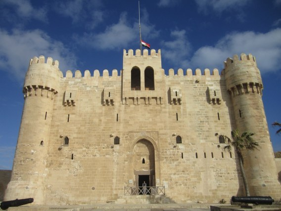 Egipto, Alejandría, Ciudadela Bey, Castillo Kaitbey
