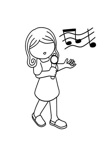 Girl Singing Music · Free image on Pixabay