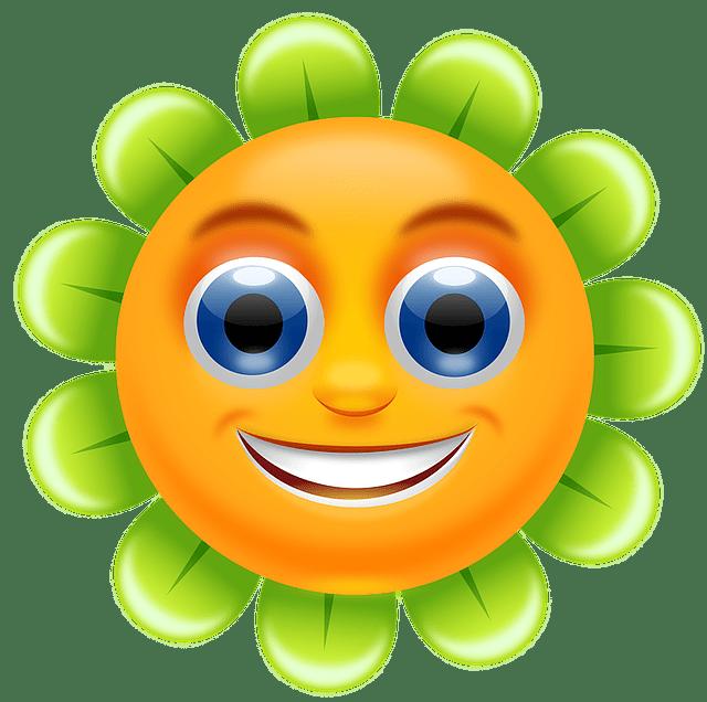 Kostenlose Vektorgrafik Bunte Niedlich Blume Qualitt