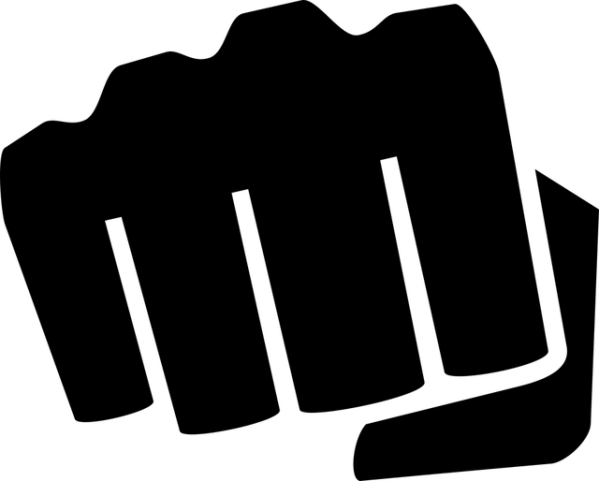 boxer boxing fist free vector
