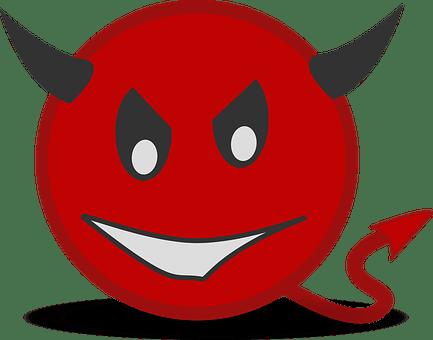 Devil, Icons, Matt, Smiley, Symbol