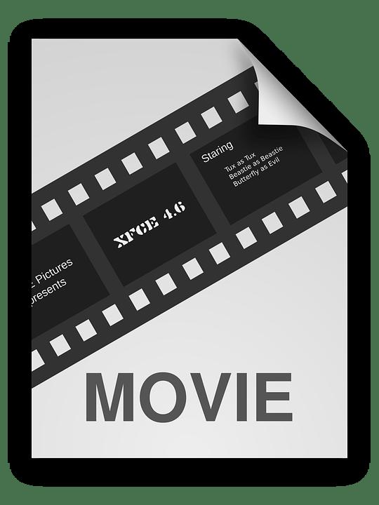 Free vector graphic Generic Icon Icons Matt Movie
