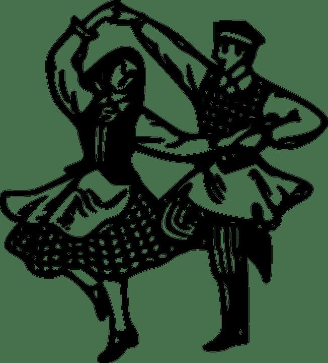 Free vector graphic: Belarus, Couple, Culture, Dancer