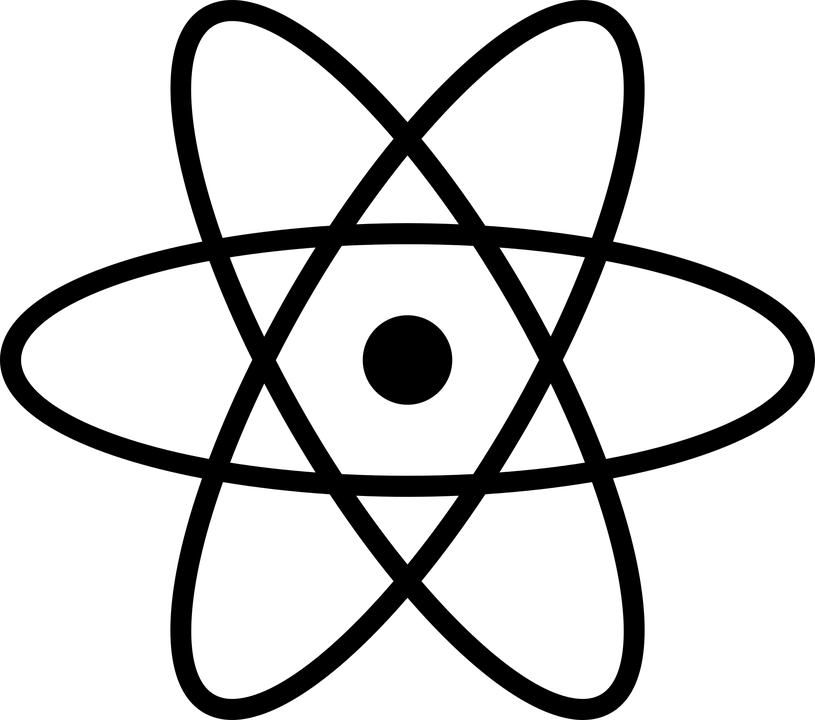 Atom Atomic Model Icon · Free vector graphic on Pixabay