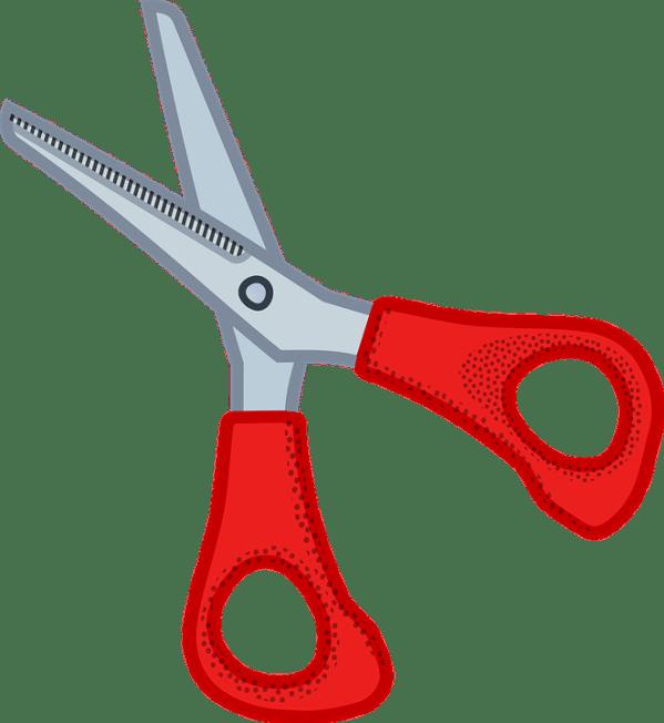 cut scissors free vector graphic