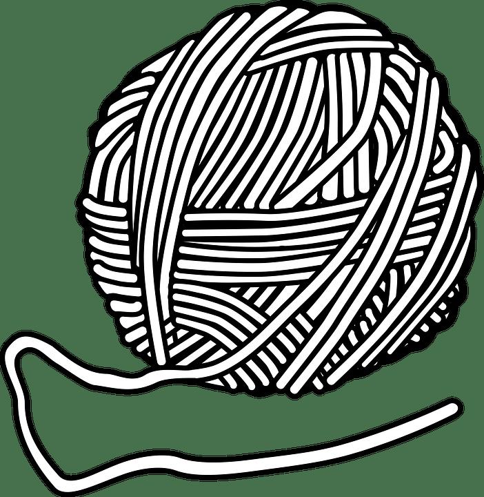 Wool Knitting Handmade · Free vector graphic on Pixabay