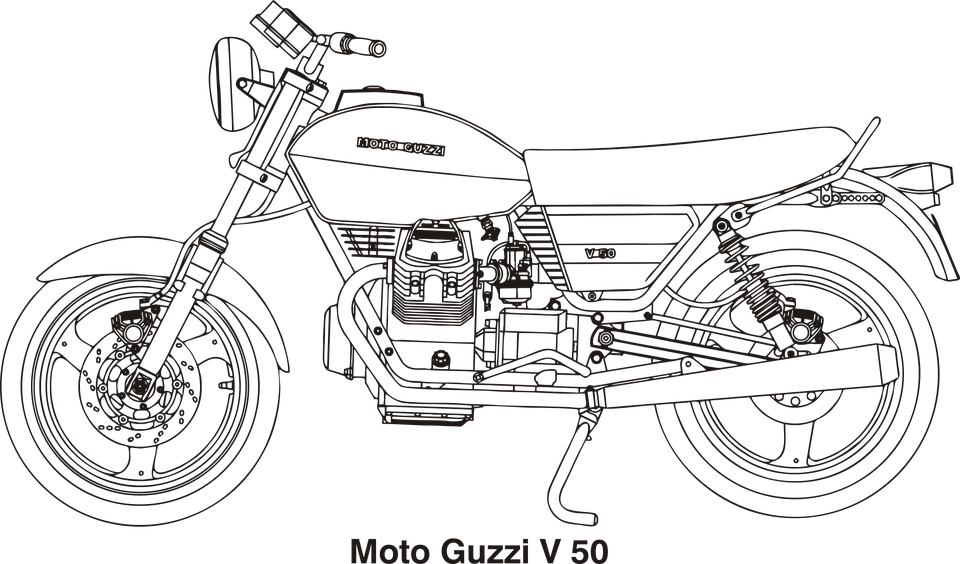 Motorcycle Vehicle Motor · Free vector graphic on Pixabay