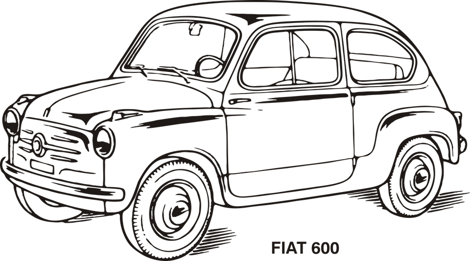 Fiat Car Old · Free vector graphic on Pixabay