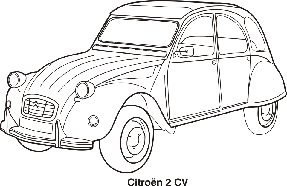 Car Outline Cars · Free vector graphic on Pixabay