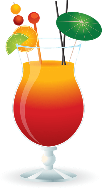 caribbean cocktail drink free