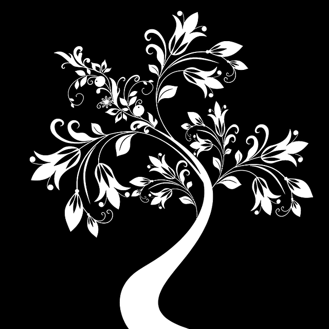 Free Vector Graphic Black Decorative Floral Flourish