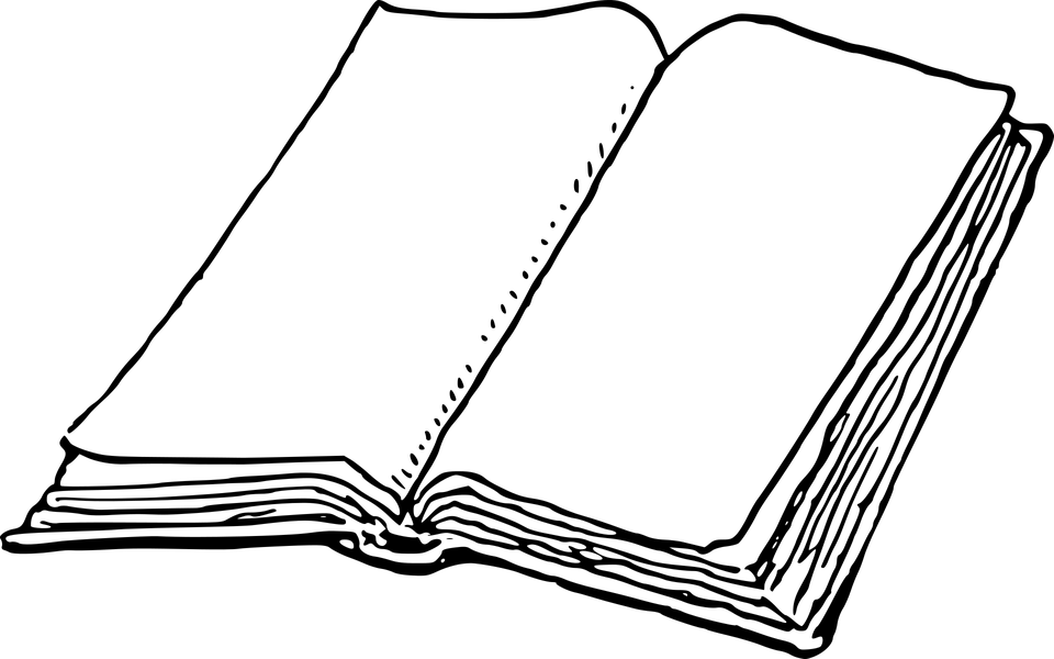 Free vector graphic: Blank, Book, Notebook, Paper, Text