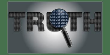 Engañar Engaño Mentiras Lupa Filosofía La