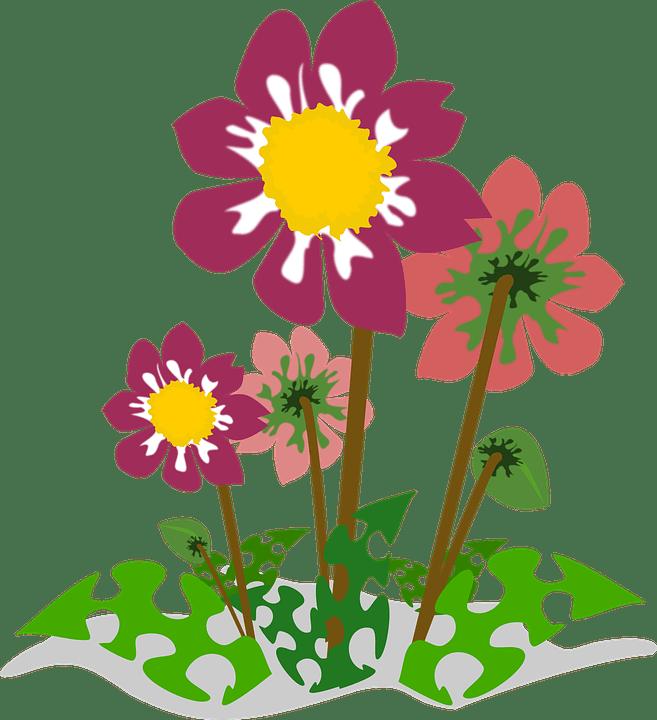 clip art flor flora