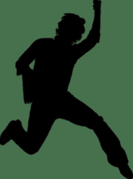 Free vector graphic Boy Guy Happy Jump Male Man