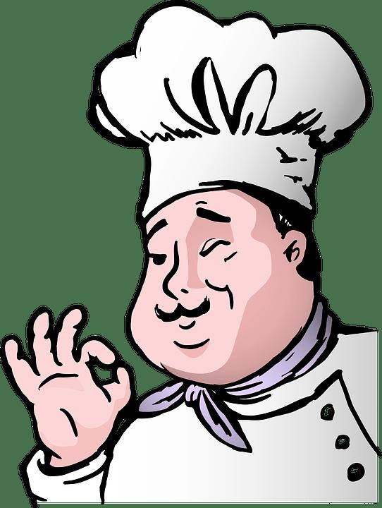 Kartun Koki Gemuk  Gambar vektor gratis di Pixabay
