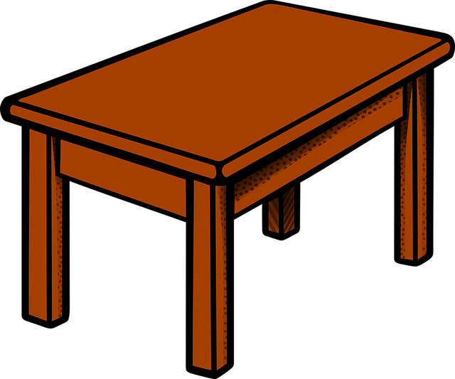 Table Furniture · Free vector graphic on Pixabay