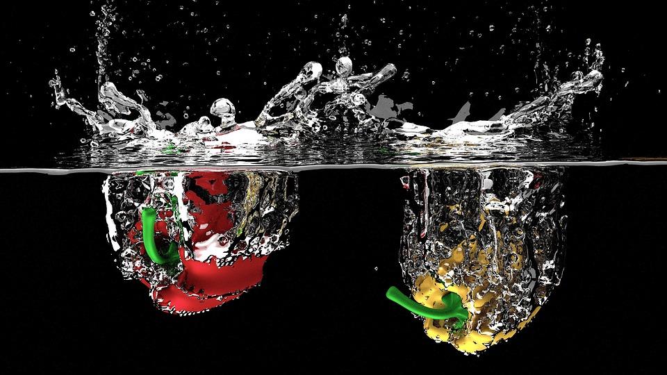 Fruit, Splash, Fresh, Liquid, Water, Nature, Drop
