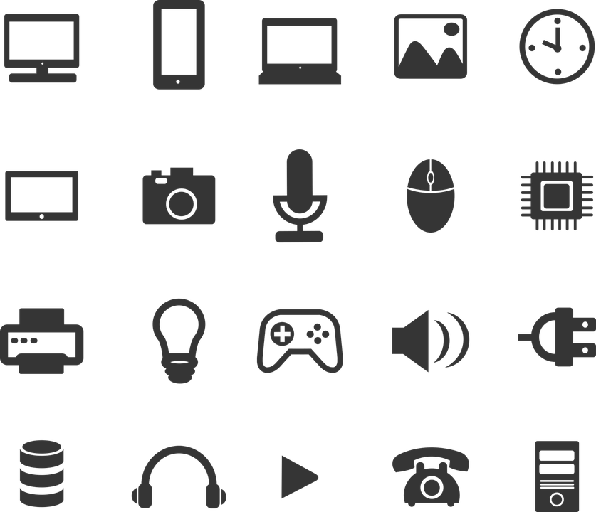 Icons Technology · Free vector graphic on Pixabay