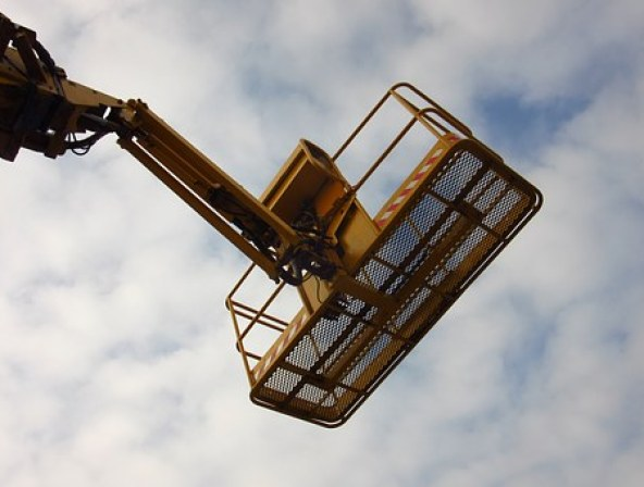 Lift, High, Above, Machine, Hydraulic