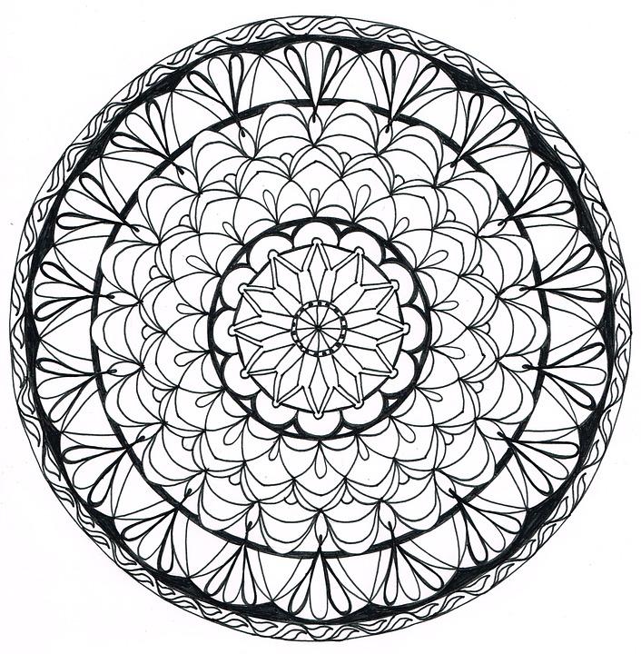 Free Illustration Manala Draw Zentangle Pattern Free