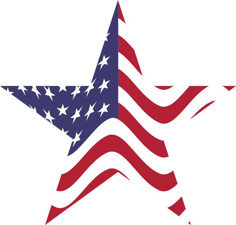 Free Vector Graphic America Usa United States Flag