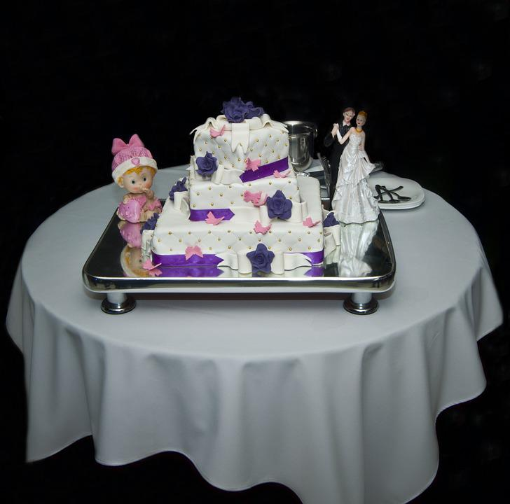Free Photo Wedding Cake Baptism Sugar Free Image On