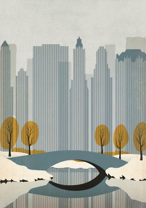 Free Illustration New York Drawing Poster City Free