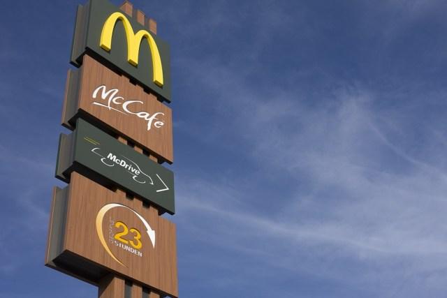 Mcdonalds, Redaktionel, Reťaz, Fast Food, M, Mccafé, kávy
