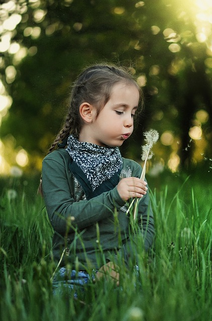 Sad Boy And Happy Girl Wallpaper Child Dandelion Kids 183 Free Photo On Pixabay