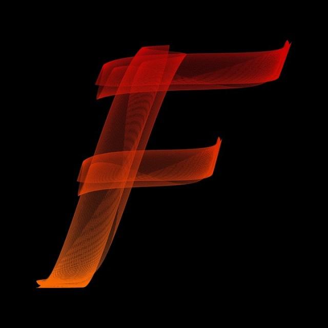 Carta F Particulas Orden Alfabetico Lineas Ola