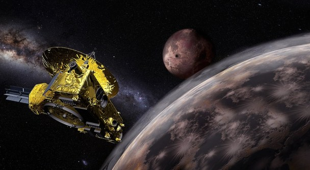 Universe, Planet, Galaxy, Probe, New Horizons, Pluto