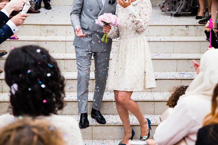 Wedding, Couple, Marriage, Ceremony, Bride, Husband