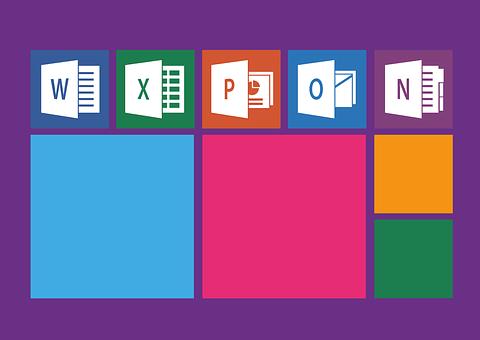 事務所, Windows, 単語, エクセル, パワーポイント, 見通し