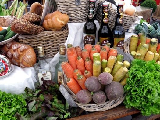 Pane, Verdure, Cesto, Cuoco, Ingredienti, Mangiare
