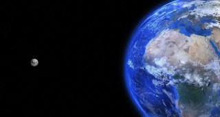 Earth, Moon, Space, Planet, World, Blue Planet