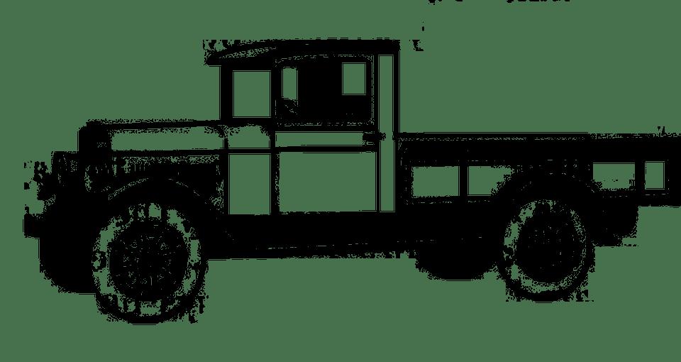 Free illustration: Vintage, Truck, Bus, Utility, Van