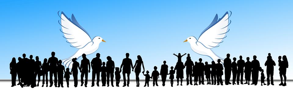 Girl Boy Wallpaper Love Human Harmony Dove 183 Free Image On Pixabay